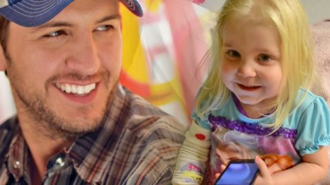 Luke Bryan's Music Calms Little Girl With Leukemia (Tear-Jerker!) (WATCH) | Country Music Videos