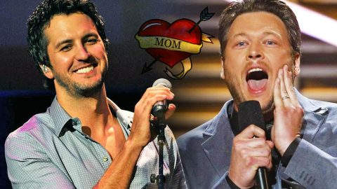 Luke Bryan Gets Shocking Tattoo Of Blake Shelton! (Awesome!) (WATCH) | Country Music Videos