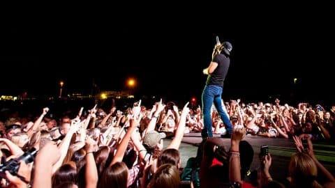 Police Raid Luke Bryan Concert, Arrest Dozens   Country Music Videos