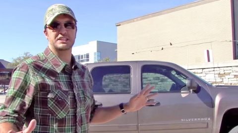 Remember When Luke Bryan Crashed His Truck? | Country Music Videos
