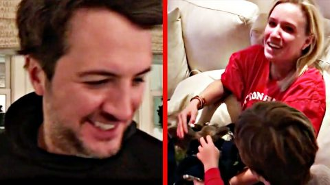 Luke Bryan's Wife Couldn't Believe What He Got Her For Christmas | Country Music Videos