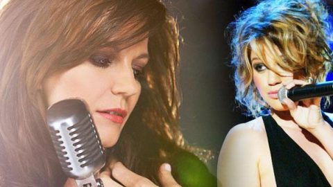 """Martina McBride & Kelly Clarkson Cover """"Does He Love You"""" (WATCH) 