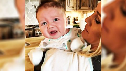 Jason Aldean's Hangry Baby Wigs Out In New Family Video   Country Music Videos