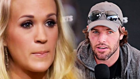 Mike Fisher Reacts To Carrie Underwood's Run-In With The Law | Country Music Videos