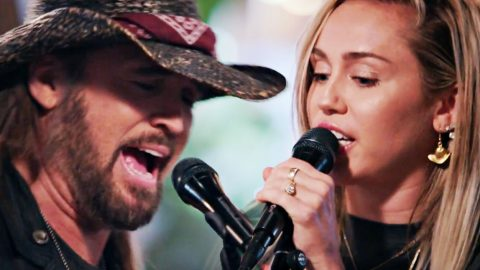 Billy Ray Cyrus Joins Miley For Surprise 'Sweet Home Alabama' Duet On 'The Voice' | Country Music Videos