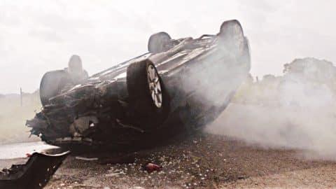Nasty Car Crash Leaves Miranda Lambert At Crossroads In 'Vice' Video | Country Music Videos