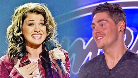 Kelly Clarkson Admirer, 'Mr. Clarkson' Can't Contain His Love During American Idol Audition | Country Music Videos