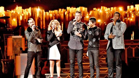 Pentatonix Joins 'Voice' Coach For Glorious New Rendition Of 'How Great Thou Art' | Country Music Videos