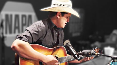 Young Cowboy 'Just Wants To Dance With You' In Phenomenal George Strait Cover | Country Music Videos