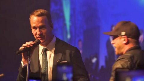 Peyton Manning Joins Country Star For Epic Outlaw Country Classic | Country Music Videos