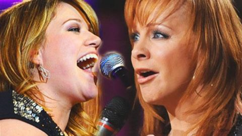 Reba McEntire & Kelly Clarkson – Because of You (Behind the Scenes Recording DUETS) (VIDEO) | Country Music Videos