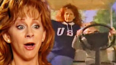 "Reba McEntire Lets Her Son Shelby ""Take The Wheel"" (Adorable!) 