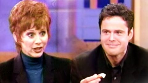 Reba McEntire Serves Donny Osmond Mountain Oysters (VIDEO) | Country Music Videos