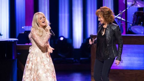 Carrie Underwood Makes Surprise Opry Appearance To Sing With Reba | Country Music Videos