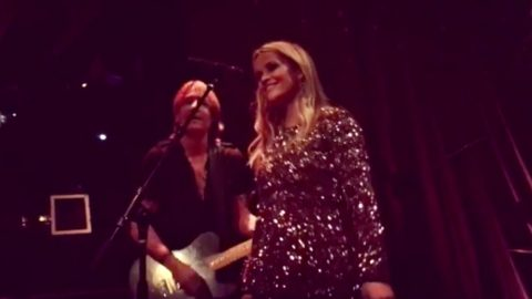 Reese Witherspoon Performs 'Sweet Home Alabama' With Keith Urban At Her 40th Birthday Party   Country Music Videos