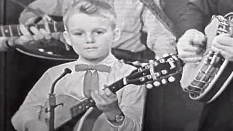 RARE: 7-Year-Old Prodigy Ricky Skaggs Showcases Sensational Mandolin Skills | Country Music Videos
