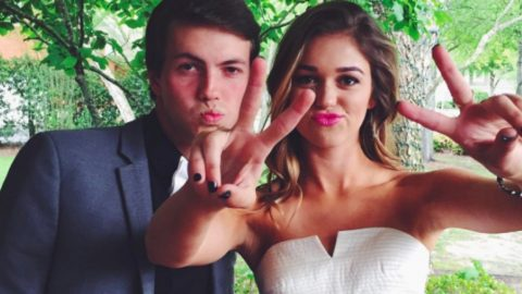 Sadie Robertson Attends Prom With Someone 'She Couldn't Do Life Without' | Country Music Videos