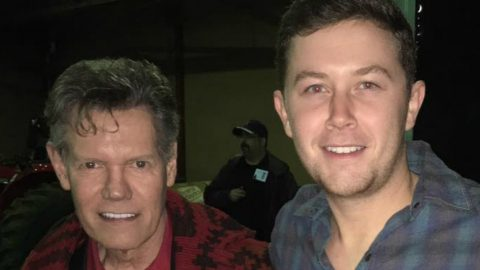 Randy Travis Gives Scotty McCreery The Surprise Of A Lifetime   Country Music Videos
