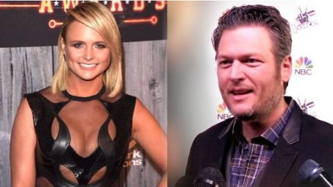 See Blake Shelton's Adorable Reaction to Miranda Lambert's ACCA Look! (VIDEO) | Country Music Videos