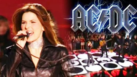 Shania Twain – You Shook Me All Night Long (LIVE) (WATCH) | Country Music Videos