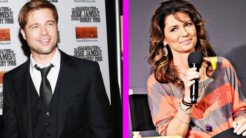 Shania Twain Tweets Brad Pitt 20+ Years After Referencing Him In Song | Country Music Videos