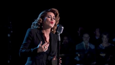 Shania Twain Leaves Us Breathless With Powerful Performance Of 'Soldier' On DWTS | Country Music Videos