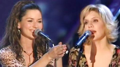 Shania Twain and Alison Krauss – Forever And For Always (Live) | Country Music Videos