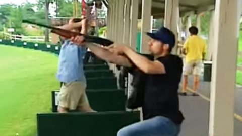 How Duck Dynasty Fans Shoot Golf Balls At The Range (HILARIOUS!)   Country Music Videos