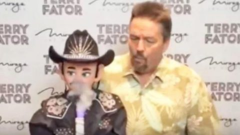 Singing Ventriloquist Delivers High-larious Willie Nelson Impression | Country Music Videos
