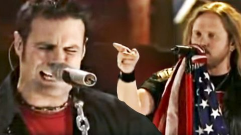 Montgomery Gentry Joins Skynyrd For Booming Tribute To Freedom | Country Music Videos