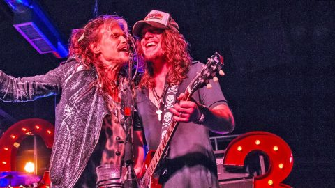 Steven Tyler & The Cadillac Three Make 'Sweet' Music In Surprise Performance   Country Music Videos