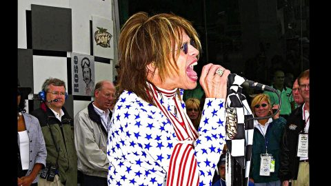 Remember Steven Tyler's National Anthem That Rivaled Fergie Outrage?   Country Music Videos