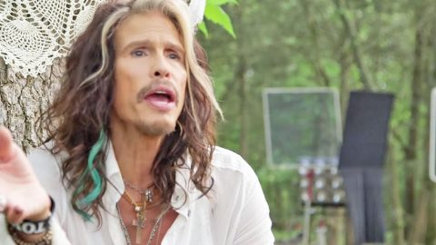 Steven Tyler Explains His Crossover To Country Behind The Scenes Of 'Love Is Your Name' | Country Music Videos