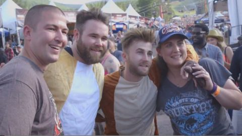 Country Duo Helps Fan Pull Off Epic Marriage Proposal | Country Music Videos