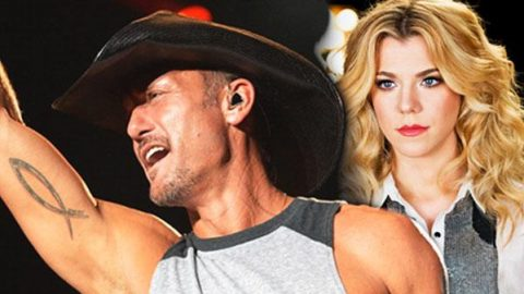Tim Mcgraw Talks Down Fan Before Song With Band Perry (VIDEO) | Country Music Videos