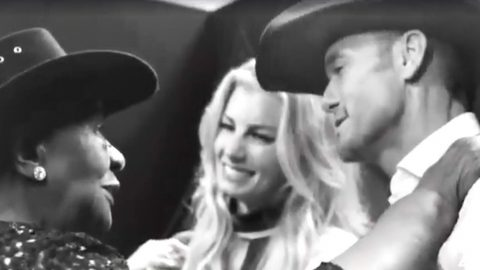 Tim McGraw & Faith Hill Share Special Moment With 95-Year-Old Country Fan | Country Music Videos