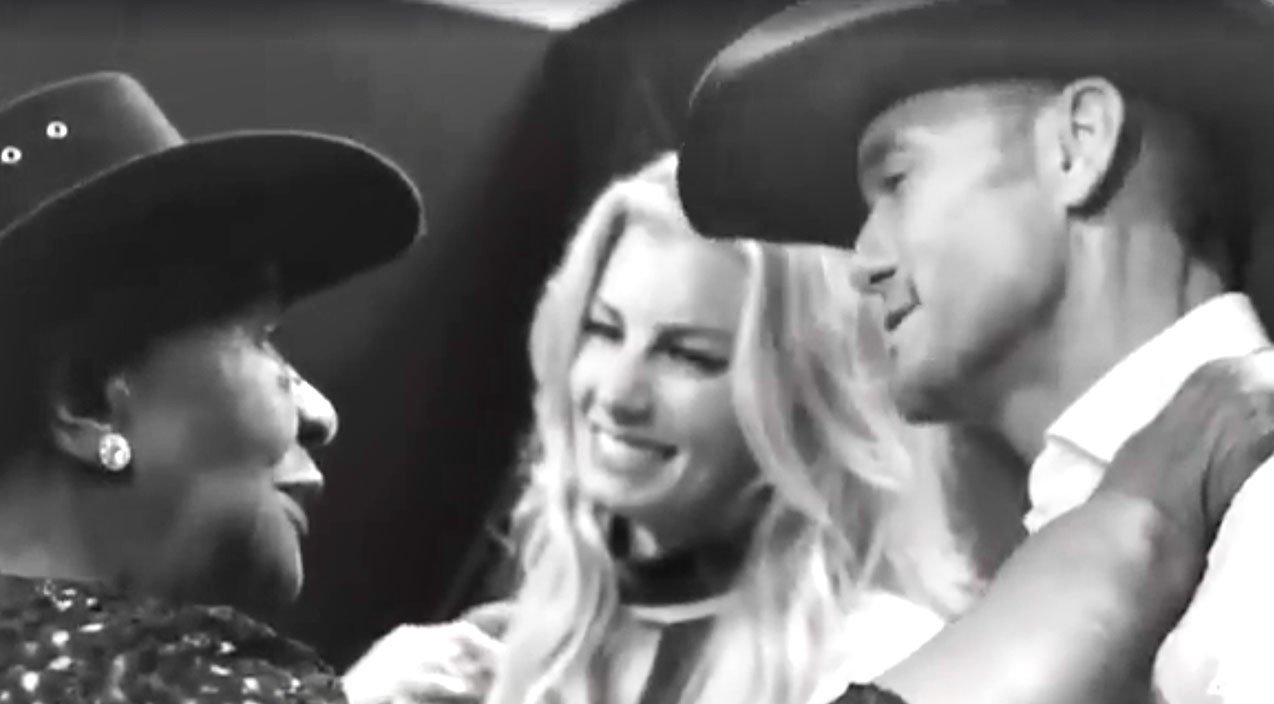 Tim Mcgraw Faith Hill Share Special Moment With 95 Year Old