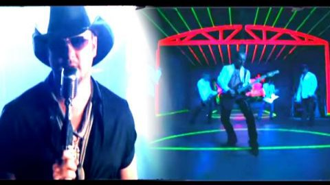 Tim McGraw and Def Leppard – Nine Lives   Country Music Videos