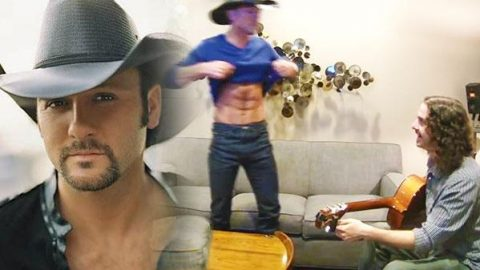 Tim McGraw and Ellen Degeneres Prank Unsuspecting Guitar Tuner (Hilarious) (VIDEO) | Country Music Videos