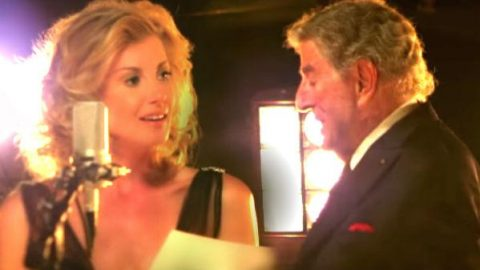Tony Bennett and Faith Hill – The Way You Look Tonight (WATCH) | Country Music Videos