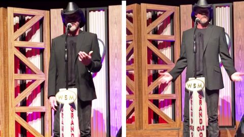 Trace Reveals The ONE Scary Thing That Nearly Stopped His Opry Debut   Country Music Videos