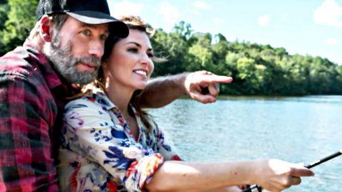 Shania Twain Reveals She's Kissing John Travolta In New Movie | Country Music Videos