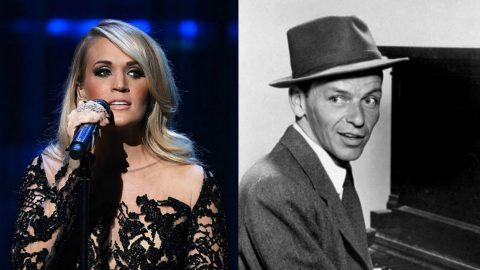 Carrie Underwood Honors Frank Sinatra With Tear-Jerking Rendition Of 'Someone To Watch Over Me' | Country Music Videos