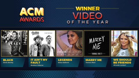 ACM Video Of The Year Winner Declared Amid Stiff Competition | Country Music Videos