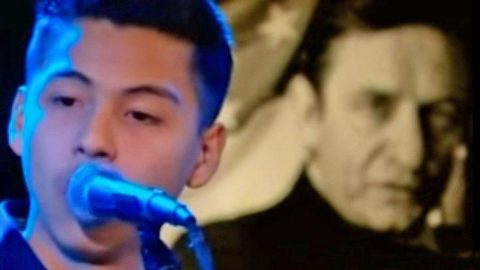 15-Year-Old Sounds Practically Identical To Johnny Cash In Fiery 'Ring Of Fire' Performance | Country Music Videos