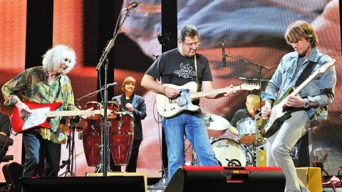 Vince Gill Rocks Out With Eric Clapton, Keith Urban, Keith Richards & Albert Lee (VIDEO) | Country Music Videos