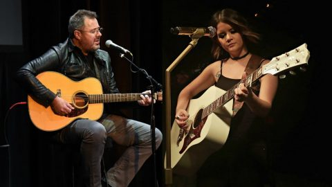 Maren Morris & Vince Gill Release Poignant Tribute To Victims Of Las Vegas Tragedy | Country Music Videos
