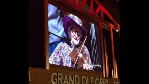 99-Year Old Fiddler Fulfills Dream To Perform On Grand Ole Opry | Country Music Videos