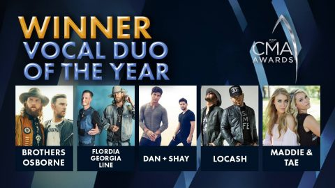 CMA Awards Announce Vocal Duo Of The Year | Country Music Videos