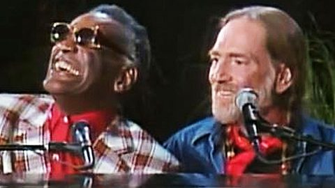 Willie Nelson & Ray Charles WOW With Live Performance Of 'Georgia On My Mind' | Country Music Videos